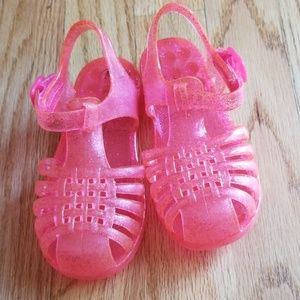 Cat & Jack Toddler Girl Jelly Sandals (Size 7/8)
